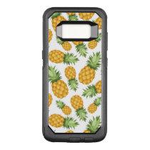 Cartoon Pineapple Pattern OtterBox Commuter Samsung Galaxy S8 Case
