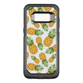 Cartoon Pineapple Pattern OtterBox Commuter Samsung Galaxy S8 Case