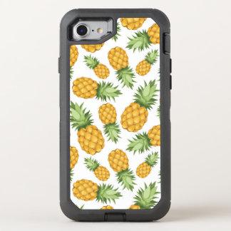 Cartoon Pineapple Pattern OtterBox Defender iPhone 7 Case
