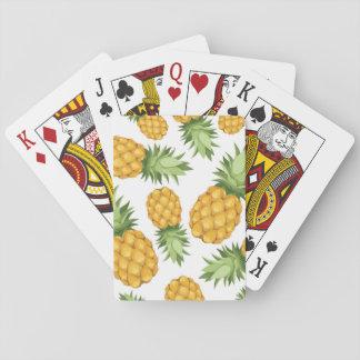 Cartoon Pineapple Pattern Playing Cards