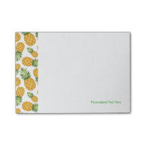 Cartoon Pineapple Pattern Post-it Notes