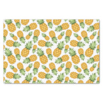 Cartoon Pineapple Pattern Tissue Paper