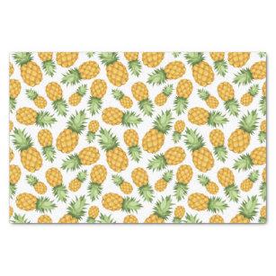 Cartoon Pineapple Pattern Tissue Paper