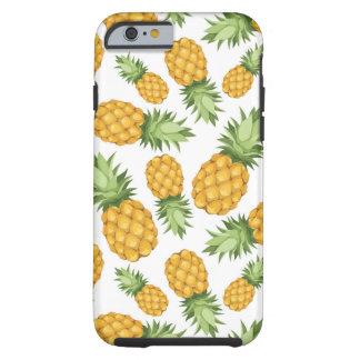 Cartoon Pineapple Pattern Tough iPhone 6 Case