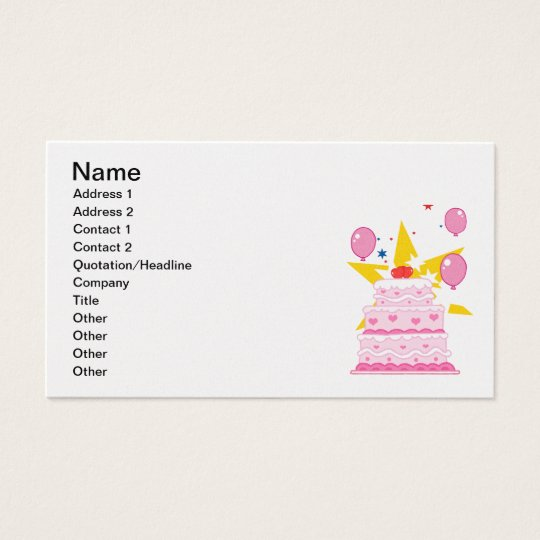 cartoon-pink--cake.png Girly Layered Cake Party Business Card