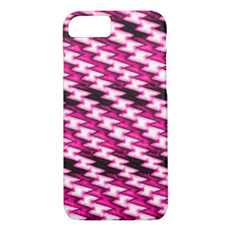 Cartoon Pink Heart X-ray iPhone 7 Case