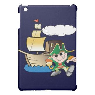Cartoon Pirate and Ship iPad Mini Cover