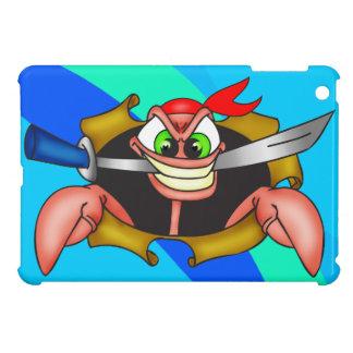 Cartoon Pirate Crab iPad Mini Case