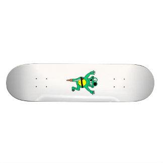 Cartoon Pirate Frog Skate Decks