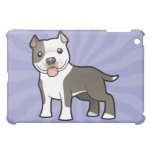 Cartoon Pitbull / American Staffordshire Terrier Case For The iPad Mini