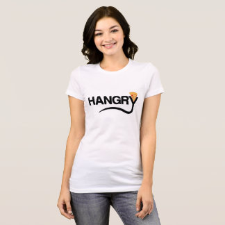 Cartoon Pizza Hangry T-Shirt for Foodies