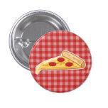 Cartoon Pizza Slice Button