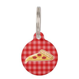 Cartoon Pizza Slice Pet Tag