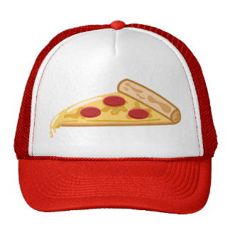 Cartoon Pizza Slice Trucker Hat