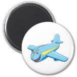Cartoon plane fridge magnets