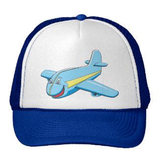 Cartoon plane trucker hat