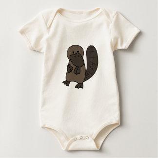 Cartoon Platypus Baby Bodysuit