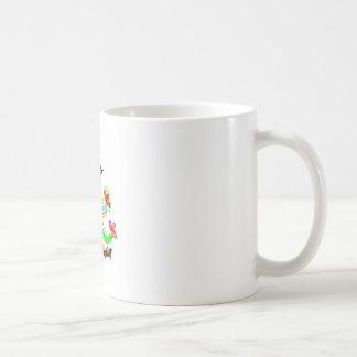 Cartoon Play with Alphabet A Coffee Mug