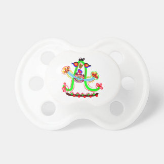Cartoon Play with Alphabet A Pacifier