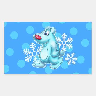 Cartoon polar bear cute sticker