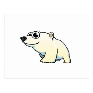 Cartoon Polar Bear Postcard