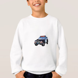 Cartoon Police Car Sweatshirt