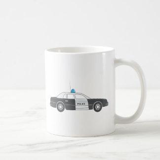Cartoon Police Patrol Car Coffee Mug