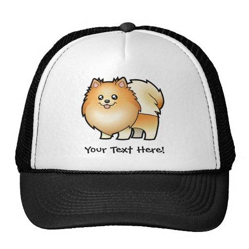 Cartoon Pomeranian Hats