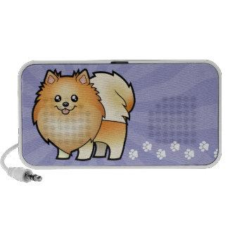 Cartoon Pomeranian iPod Speakers