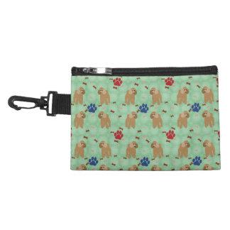 Cartoon Poodle Accessory Bag