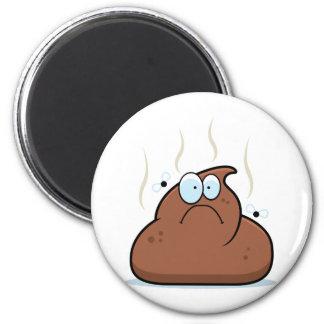 Cartoon Poop Magnet