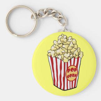 Cartoon Popcorn Bag Keychain