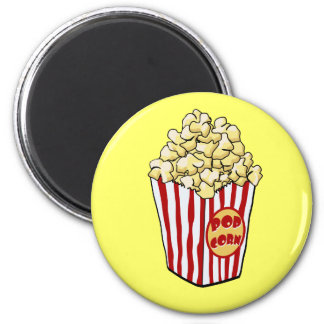 Cartoon Popcorn Bag Magnet