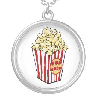 Cartoon Popcorn Bag Necklace