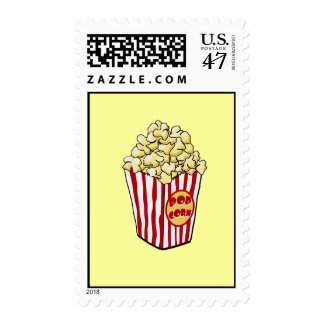 Cartoon Popcorn Bag Postage