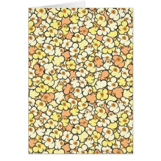 Cartoon Popcorn Card