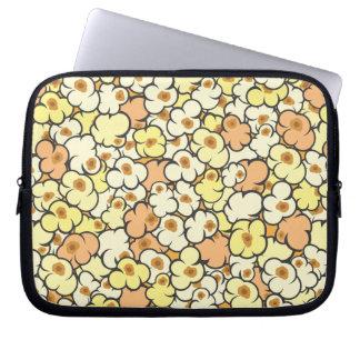 Cartoon Popcorn Laptop Sleeve