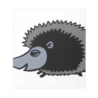 Cartoon Porcupine Notepad