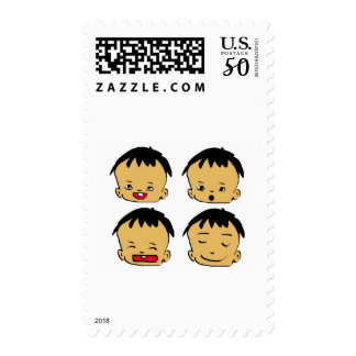 cartoon postage