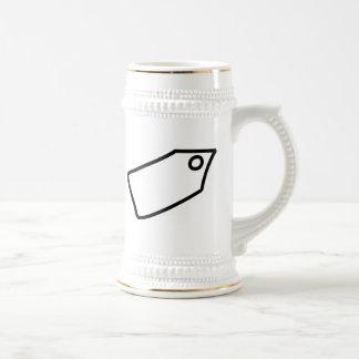 Cartoon Price Tag Coffee Mugs