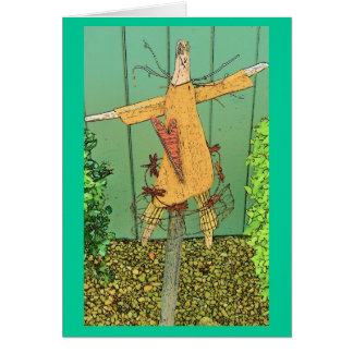 Cartoon Prim Angel Card