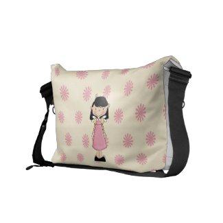 Cartoon Princess Messenger Bag
