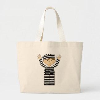 Cartoon Prisoner Bags