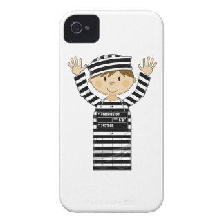 Cartoon Prisoner Case-Mate iPhone 4 Case