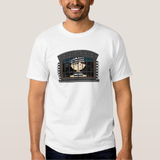 Cartoon Prisoner in Jail Cell Shirt