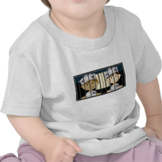 Cartoon Prisoners in Jail Cell Tee Shirts