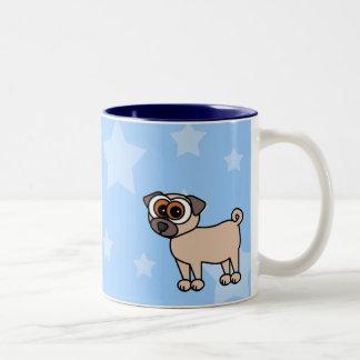 Cartoon Pug Coffee Mug