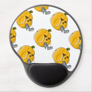 Cartoon Pumpkin Eating Kid Gel Mouse Pad