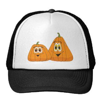 Cartoon Pumpkin Pair Trucker Hat