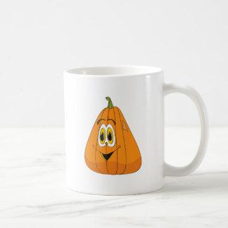 Cartoon Pumpkin Tall Coffee Mug
